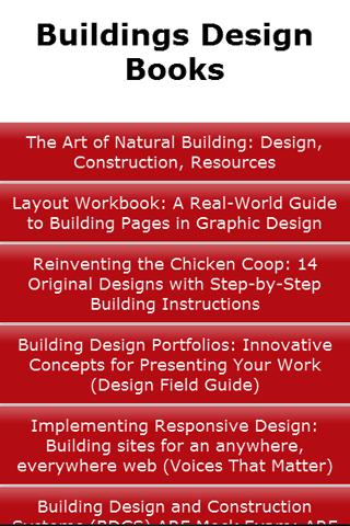 Buildings Design Books