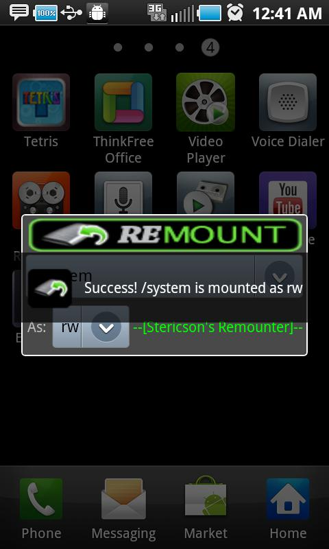 Remount - screenshot