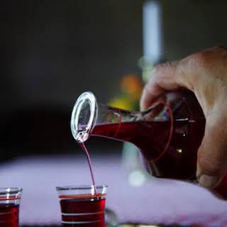 Tuică De Prune (Fermented Plum Brandy).