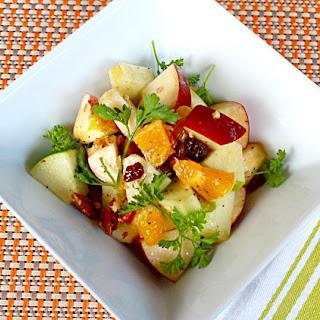 Apple and Orange Salad.