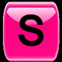 Pink Socialize for Facebook logo