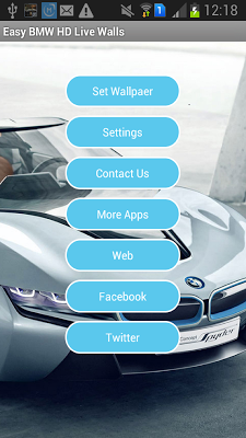 HD Live Wallpapers of BMW Cars - screenshot