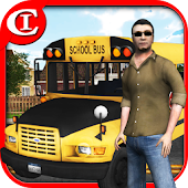 Crazy School Bus Driver 3D