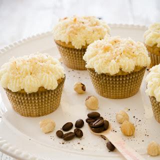Hazelnut Coffee Cupcakes.