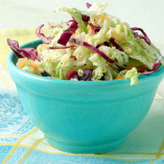 Cabbage and Celery Root Slaw.