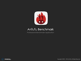 Screenshot of AnTuTu Benchmark
