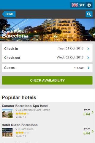 Barcelona Hotel 80 Discount