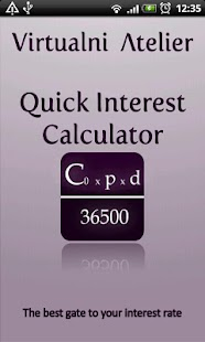 Quick Interest Calculator - screenshot thumbnail