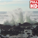 Big Ocean Waves Live Wallpaper