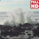 Big Ocean Waves Live Wallpaper icon