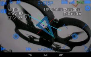 Screenshot of ARDrone Flight Pro