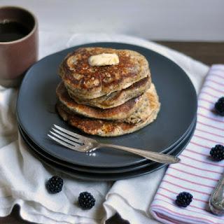 Whole Wheat Almond-Poppy Seed pancakes.