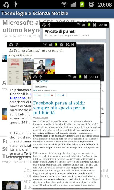 Technology and Science News - screenshot