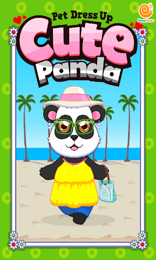 Cute Panda Pet Dress Up