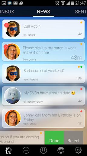 WakesApp todo messenger chat