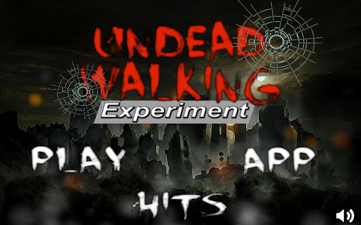 Undead Walking Experiment