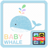 Baby whale K
