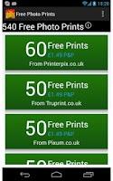 Screenshot of Free Photo Prints