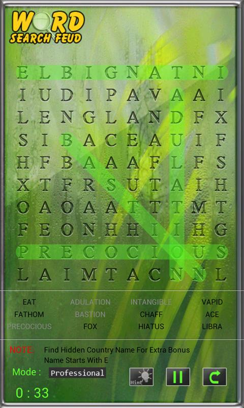 Word Search Feud Free- screenshot
