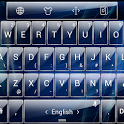 Theme TouchPal Glass Blue icon