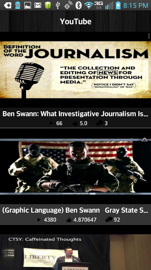 Ben Swann Truth in Media - screenshot