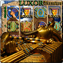 LUXOR Treasure Slot Machine logo