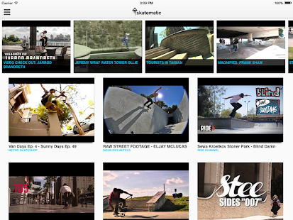 Skatematic Skateboard Videos - screenshot thumbnail