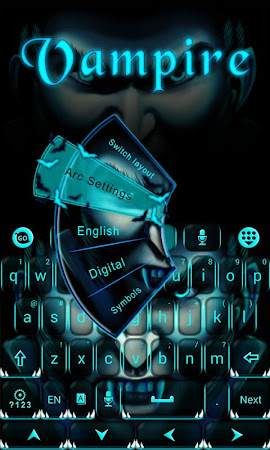Vampire GO Keyboard Theme 3.87 screenshot 640266