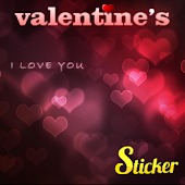 Sticker Valentine's