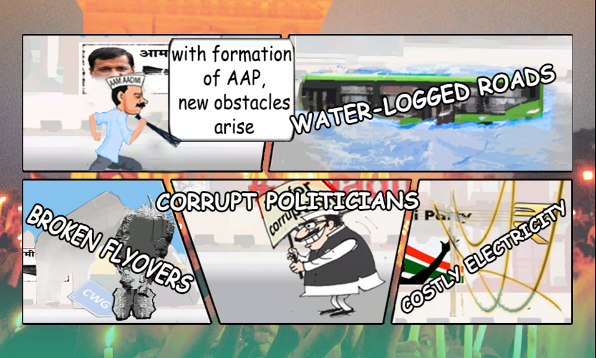 Aam Aadmi Runner - screenshot