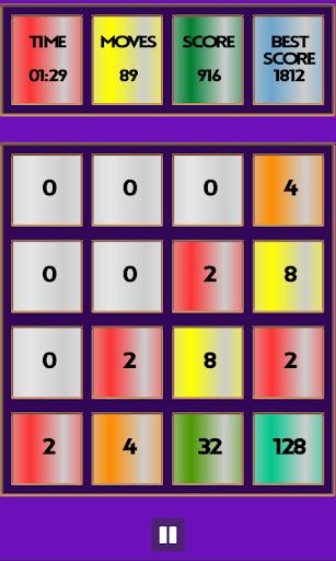 Rainbow 2048 Pro