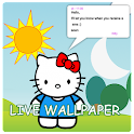 Live Wallpaper Hello Kitty