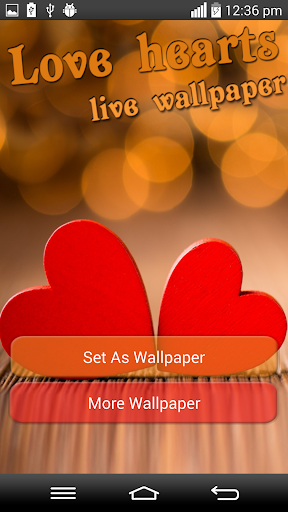 Love Hearts Live Wallpaper