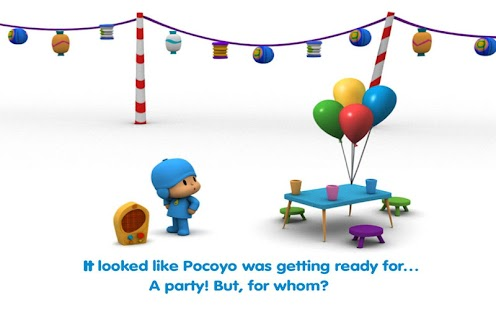 Pocoyo: Party Pooper- screenshot thumbnail