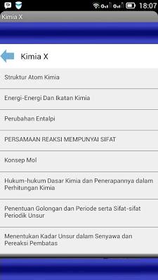 Kimia SMA - screenshot