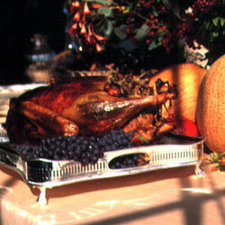 Goose with Chestnut Stuffing