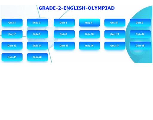 English Olympiad Grade-2