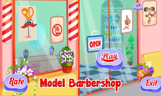 模型剃須理髮店遊戲