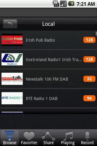 【免費娛樂App】無線電愛爾蘭-APP點子