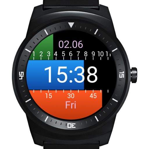 Progressive Wear Watch Face app (apk) free download for Android/PC