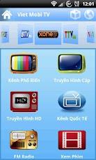 phần mềm xem tivi online cho Android 1