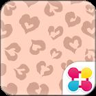 Chic Wallpaper Leopard Heart icon