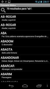 Dicionário Bíblico - BÍBLIA- screenshot thumbnail