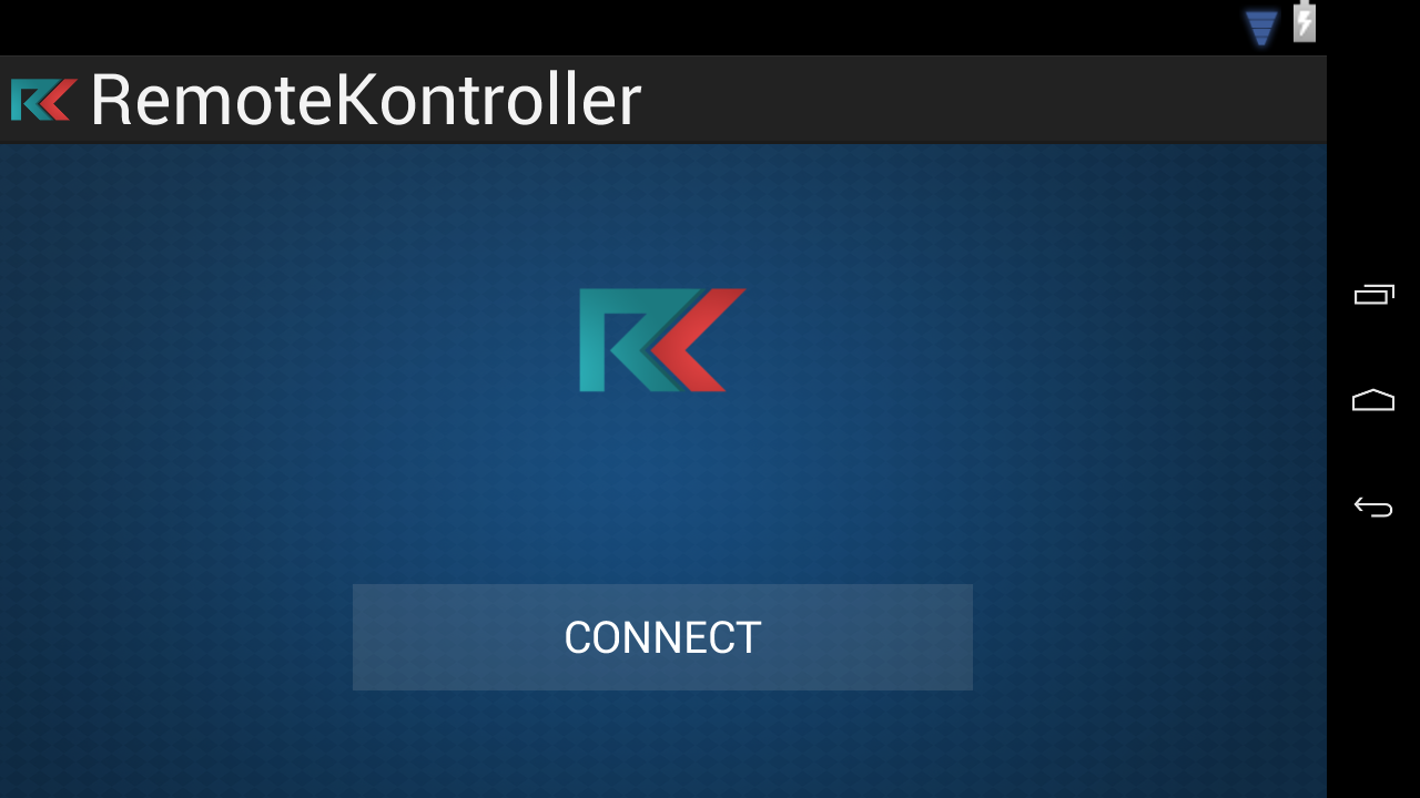 Remote Kontroller- screenshot