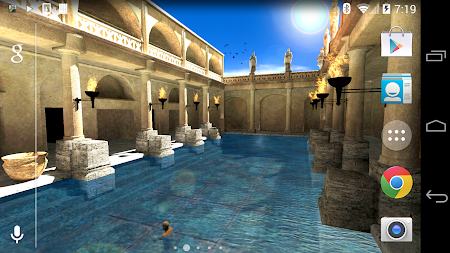 Roman Bath 3D Live Wallpaper APK screenshot thumbnail 19