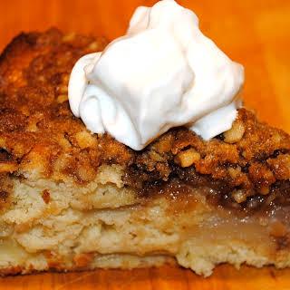 Pear Crumble Cake.