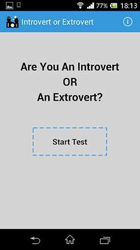 Introvert or Extrovert Test