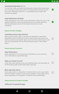 Greenify Pro 3.7 [Donation Pakage] Cracked Apk 5