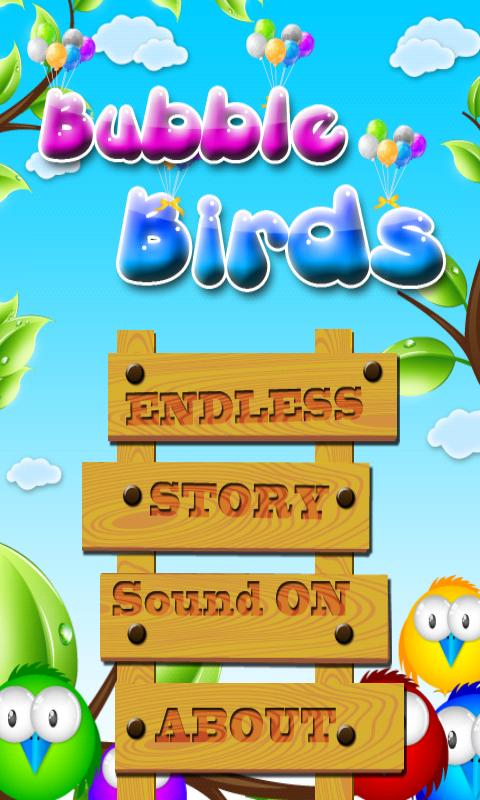 Bubble Birds (bubble shooter) - screenshot