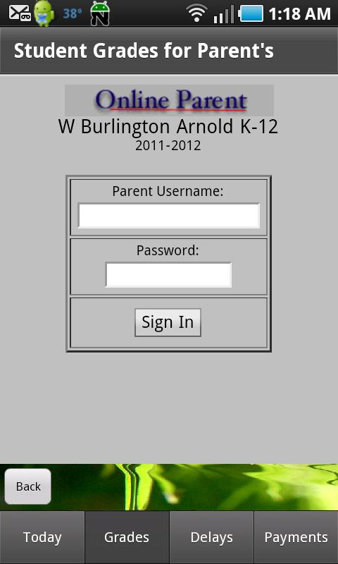 Parents - WB Schools- screenshot
